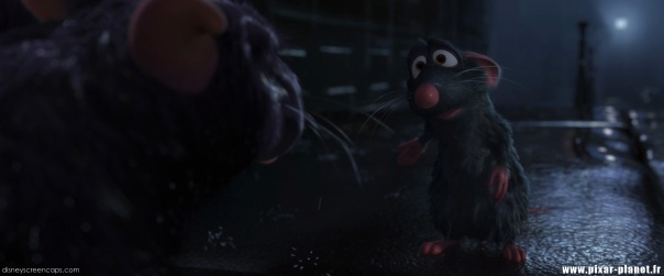 """Where are you going?"" ""Forward"" -Ratatouille"